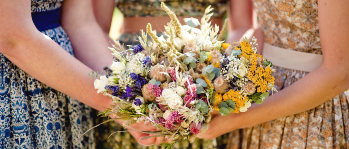 Creating Your Own Wildflower Bouquet